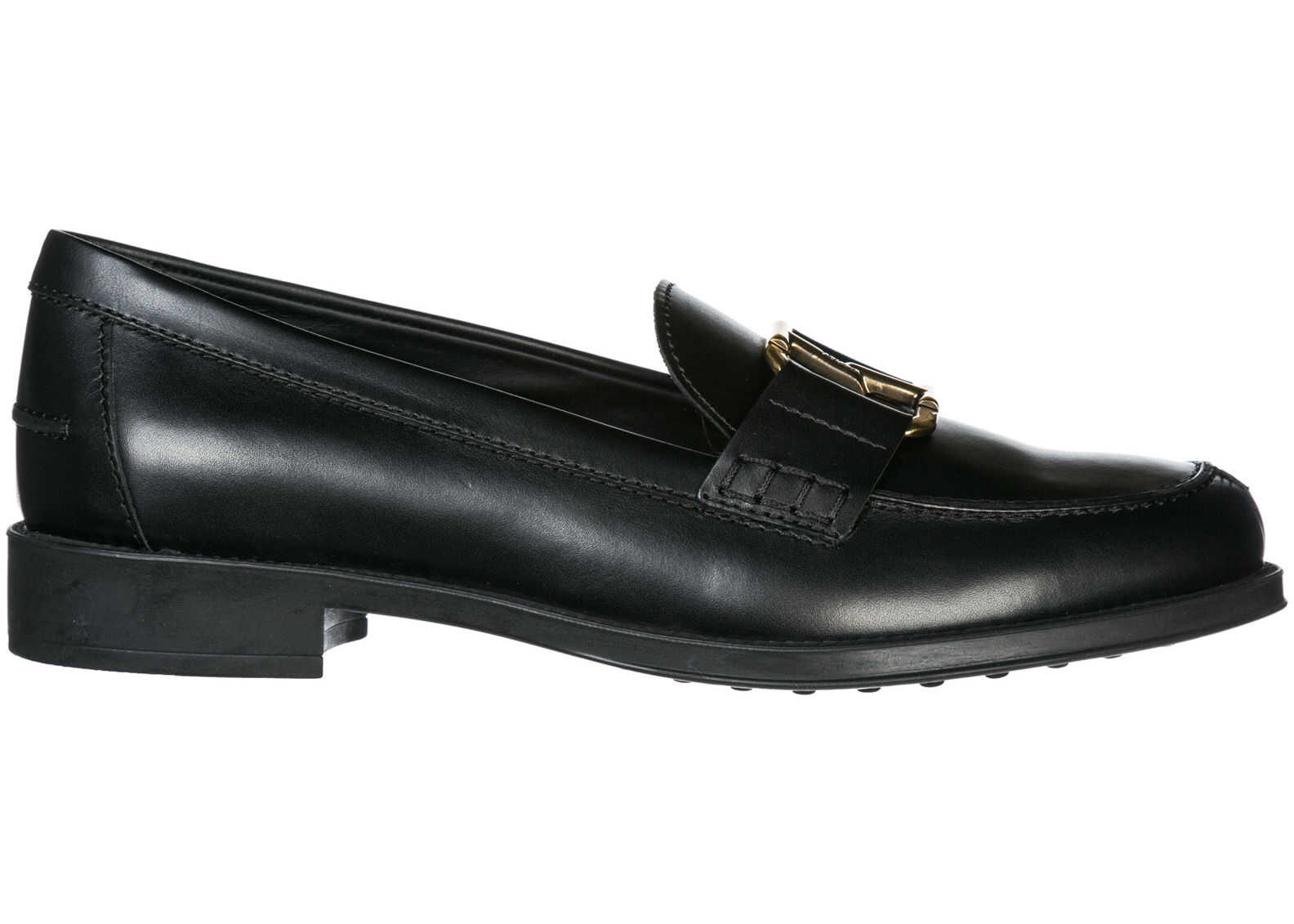 TOD'S Loafers Moccasins Black