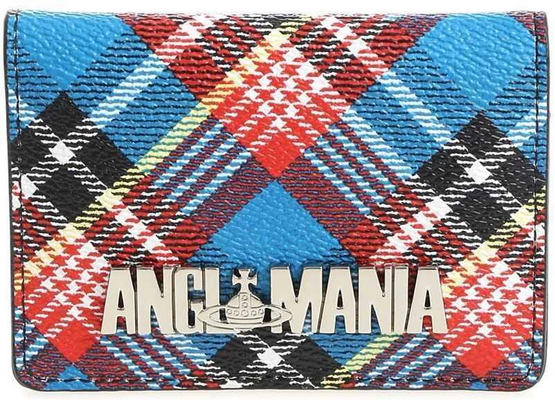 "Portofele Dama Vivienne Westwood Anglomania ""Shuka"" Card Holders With Tartan Print"