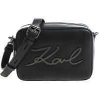 "Genti de Mana Karl Lagerfeld ""k/signature Camerabag"" Black Shoulder Bag"