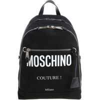Rucsacuri Moschino Black Canvas Backpack
