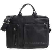 Genti de laptop & serviete Black Bag With 3D Logo Barbati