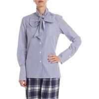 Camasi Blue And White Striped Shirt Femei