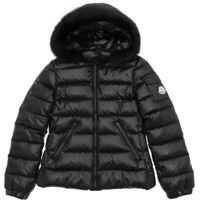 "Geci de Puf Black ""bady Fur"" Down Jacket Fete"