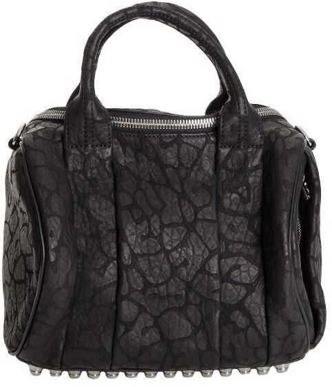 Alexander Wang Midi Rocco Duffel Bag Black