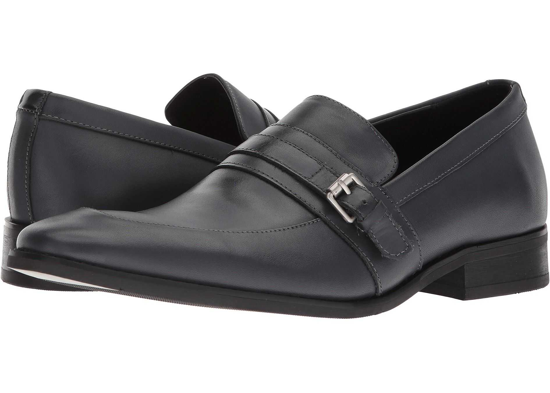 Calvin Klein Reyes Dark Grey Dress Calf