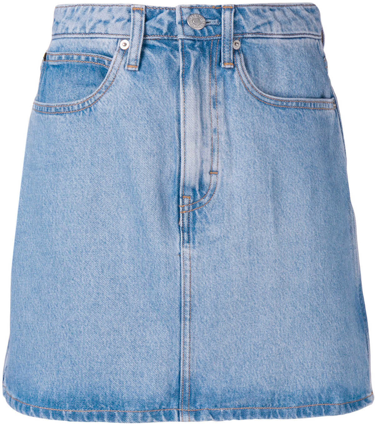 Calvin Klein Jeans Denim Mini Skirt LIGHT STONE