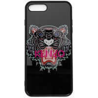 Huse mobil & tablete I-Phone7+ And I-Phone8+ Black Cover With Tiger Barbati
