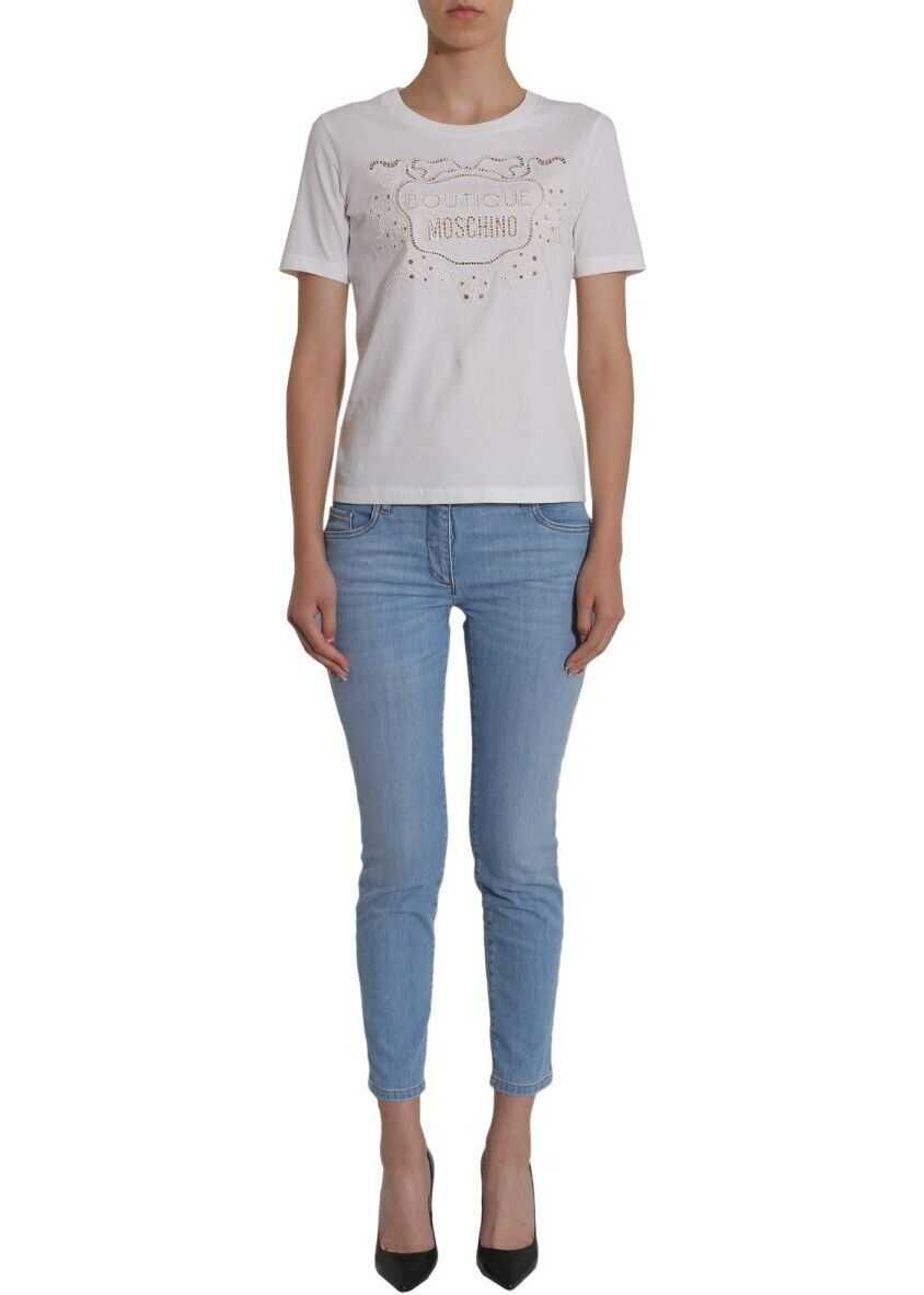 LOVE Moschino 031511221293 Cotton Jeans BLUE