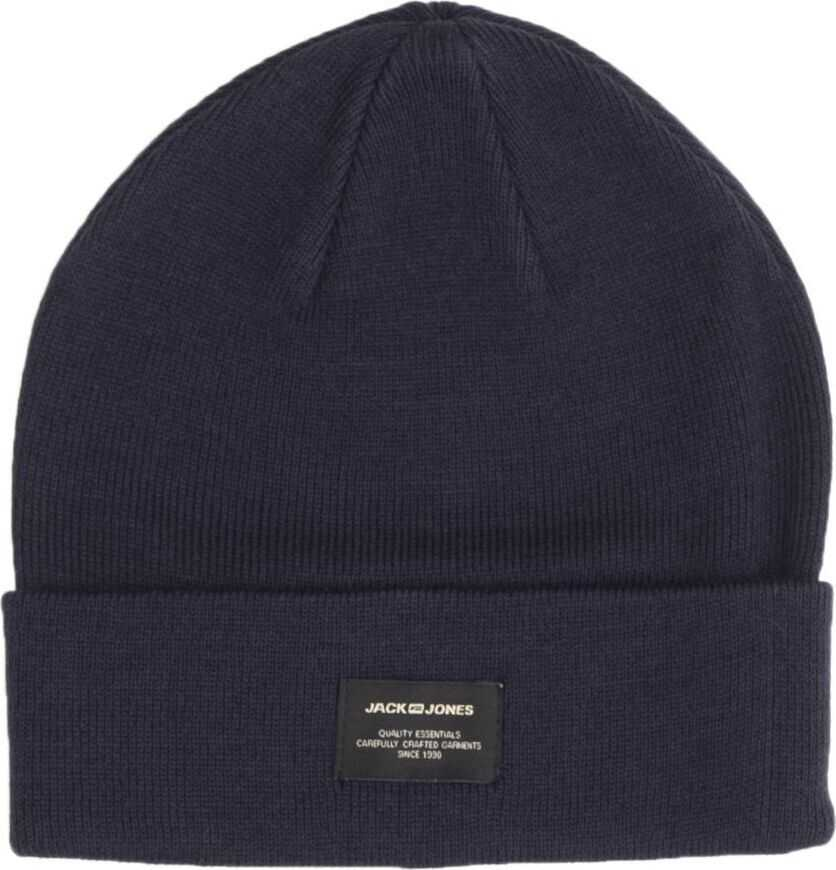 JACK & JONES 12092815Blue Acrylic Hat BLUE
