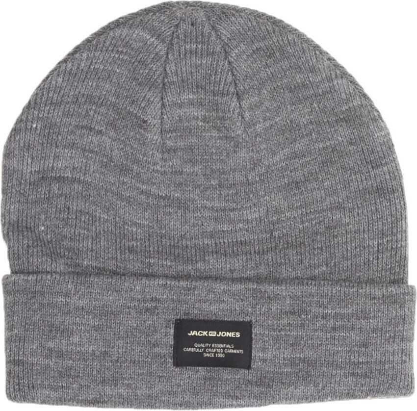 JACK & JONES 12092815Grey Acrylic Hat GREY