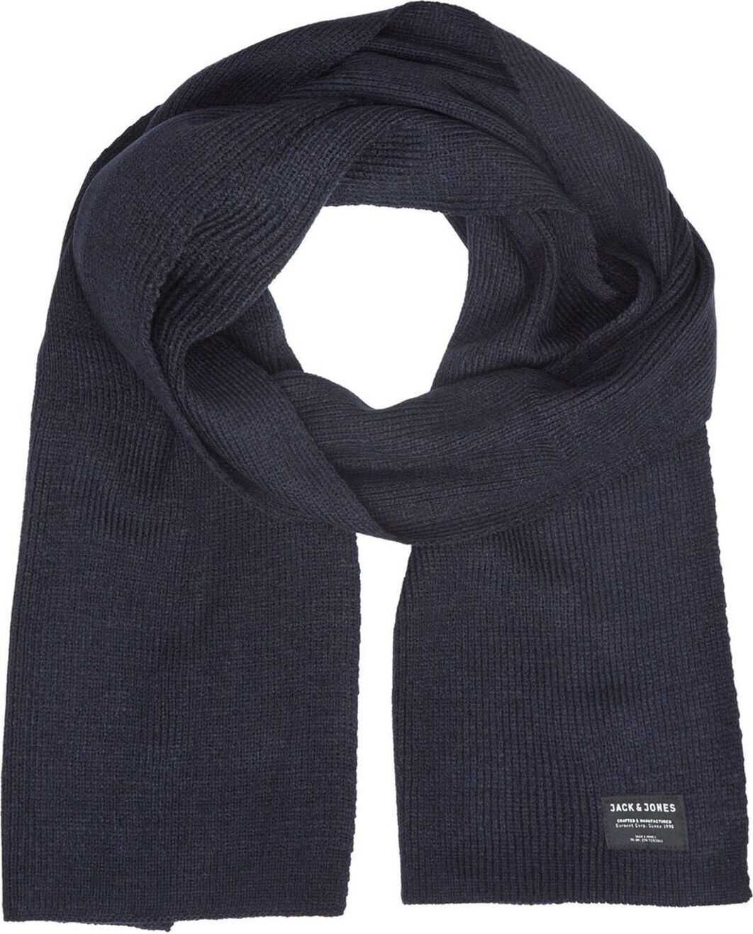 JACK & JONES 12098582Blue Acrylic Scarf BLUE
