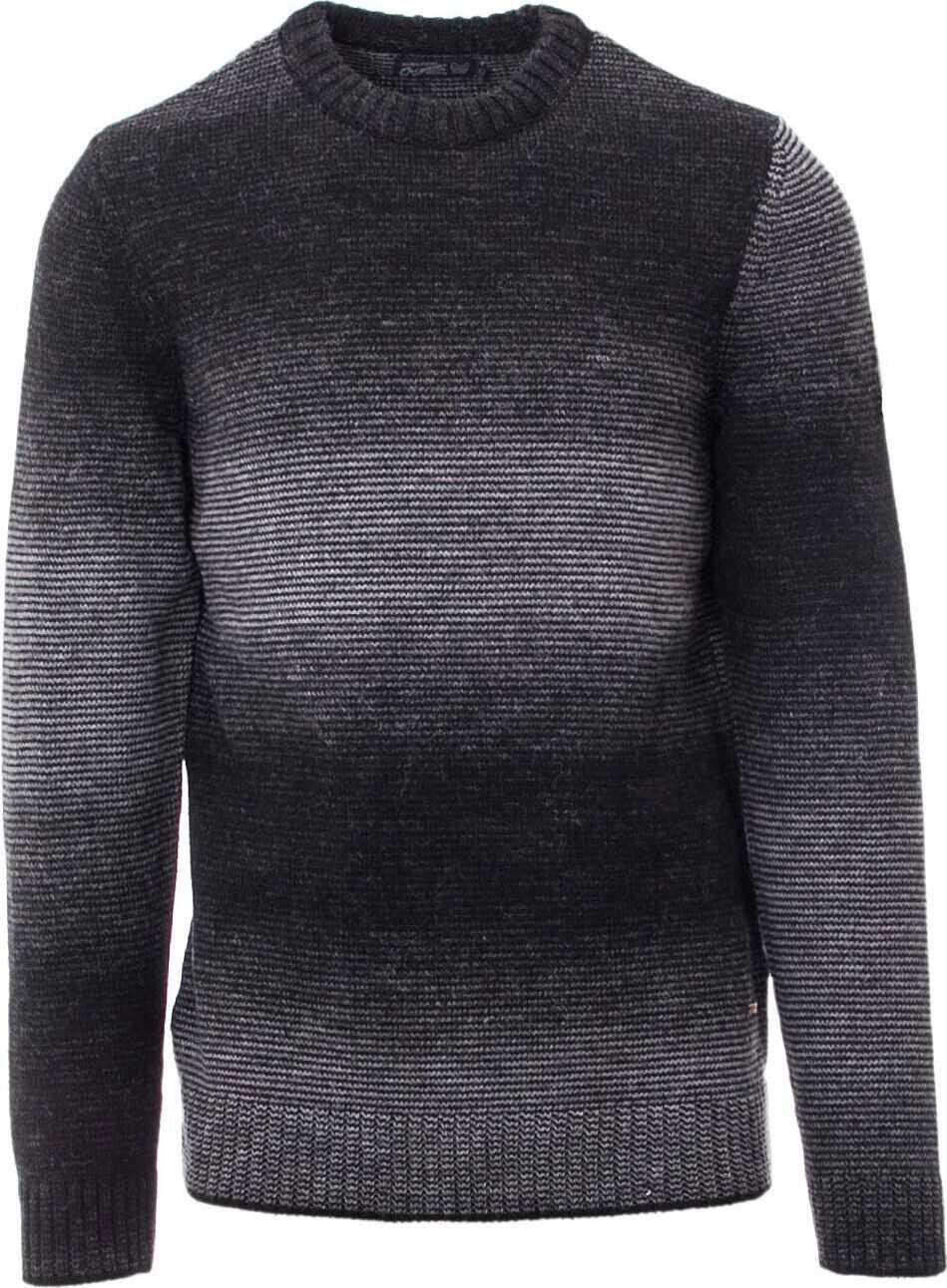 JACK & JONES 12124535Black Polyester Sweater BLACK