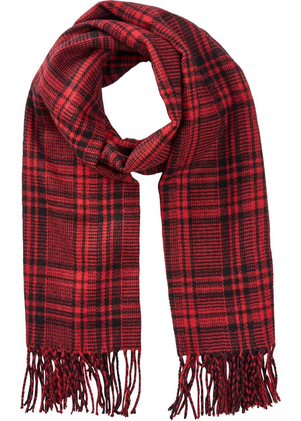JACK & JONES 12140331Red Polyester Scarf RED