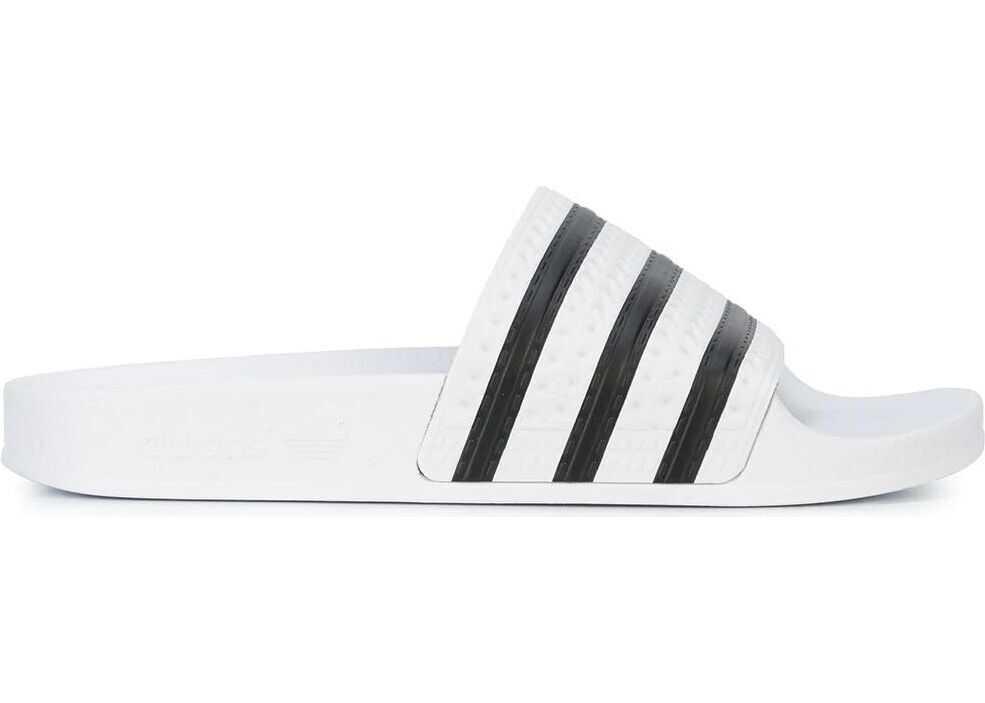 adidas Adilette Slides WHITE