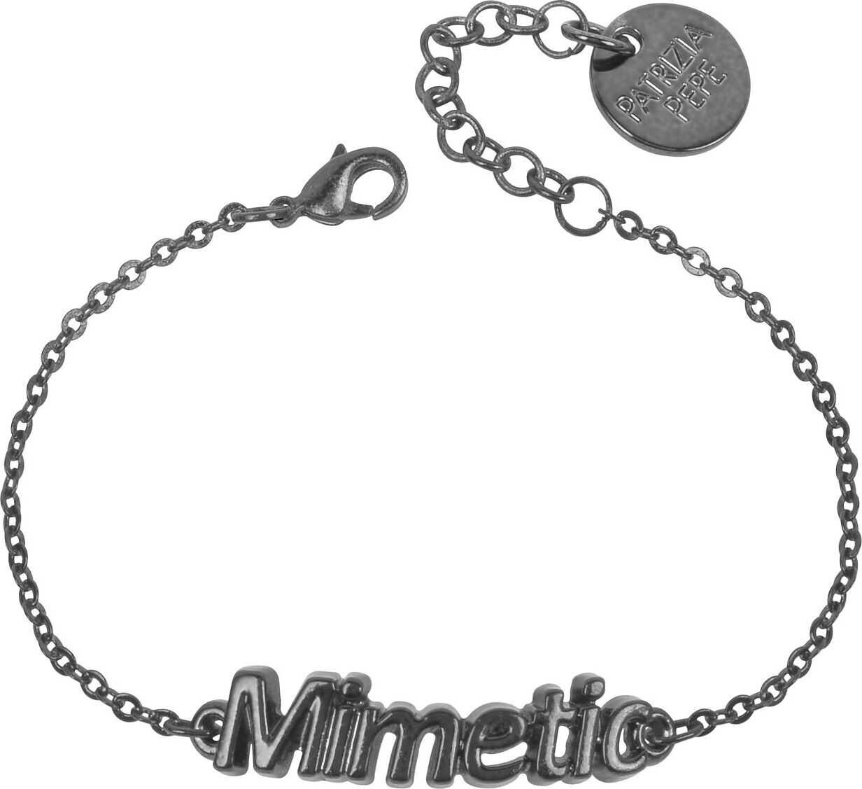Patrizia Pepe Metal Necklace BLACK