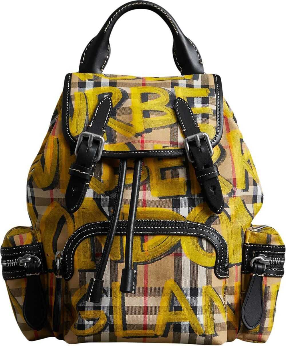 Burberry Cotton Backpack YELLOW
