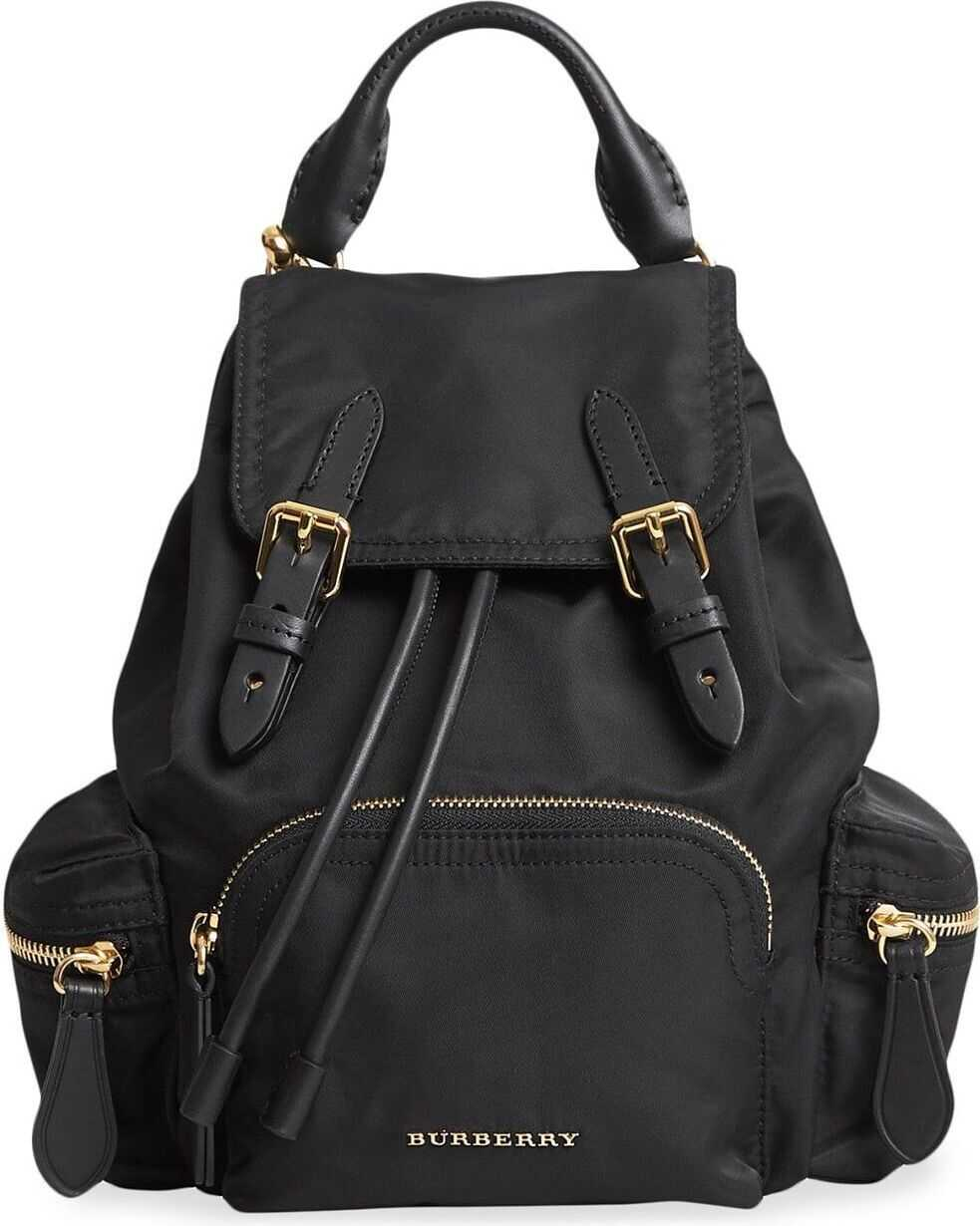 Burberry Cotton Backpack BLACK