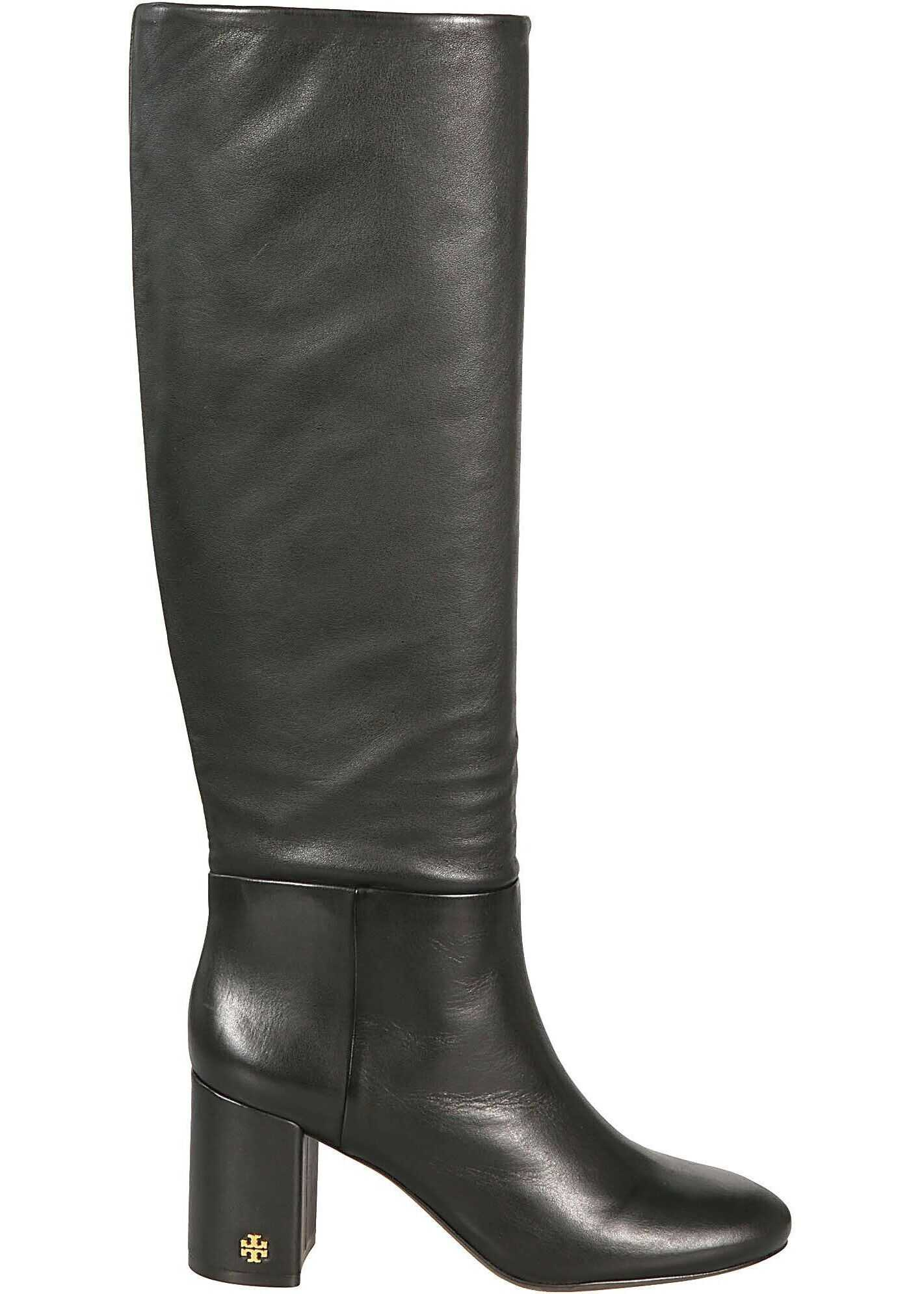 Tory Burch Leather Boots BLACK