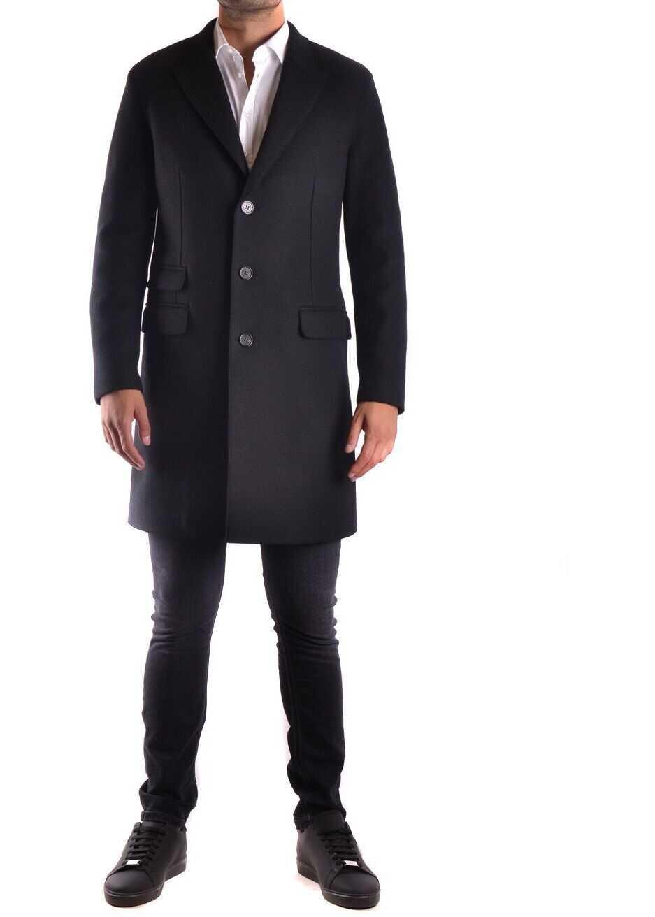 Neil Barrett Wool Coat BLACK