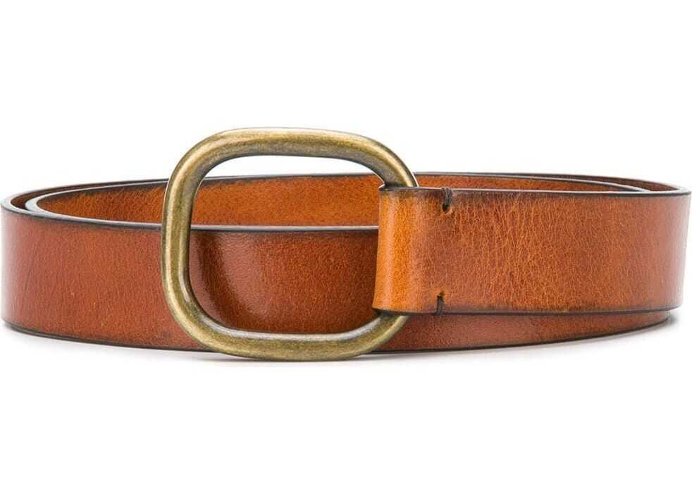 DSQUARED2 Leather Belt BROWN