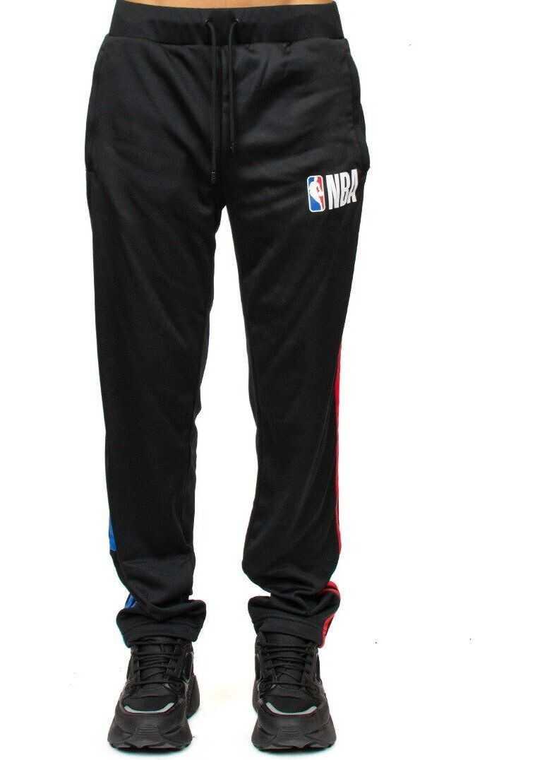 Marcelo Burlon Polyester Pants BLACK