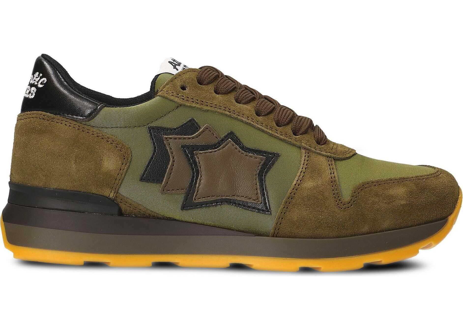 Atlantic Stars Suede Sneakers GREEN