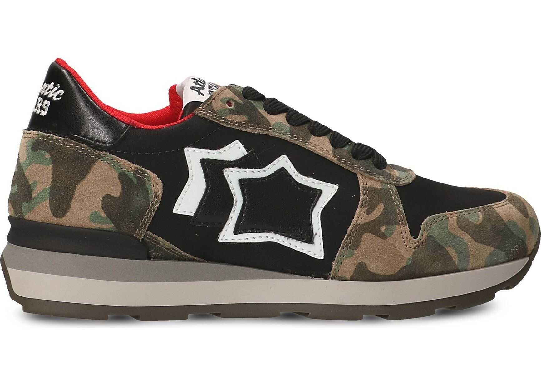 Atlantic Stars Leather Sneakers MULTICOLOR