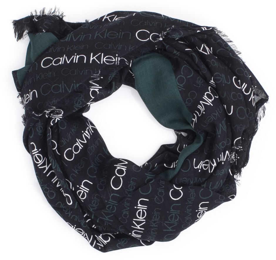 Calvin Klein K40K400238Blk Cotton Foulard BLACK