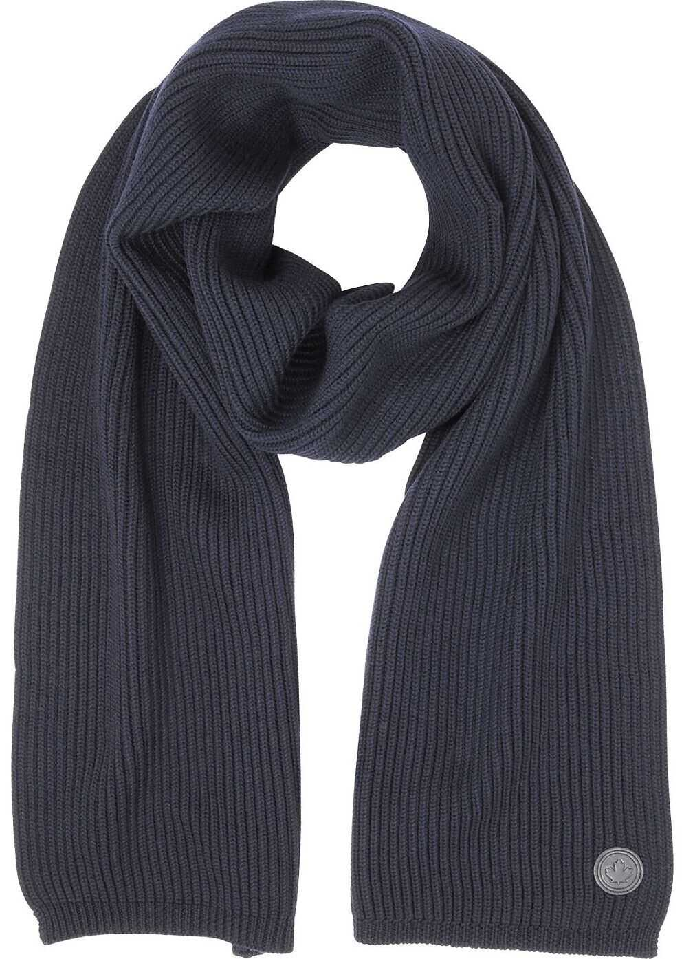 DSQUARED2 Wool Scarf BLUE