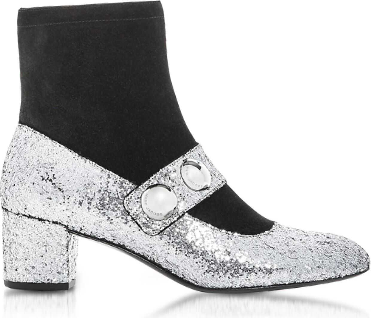 Marc Jacobs Pvc Ankle Boots SILVER