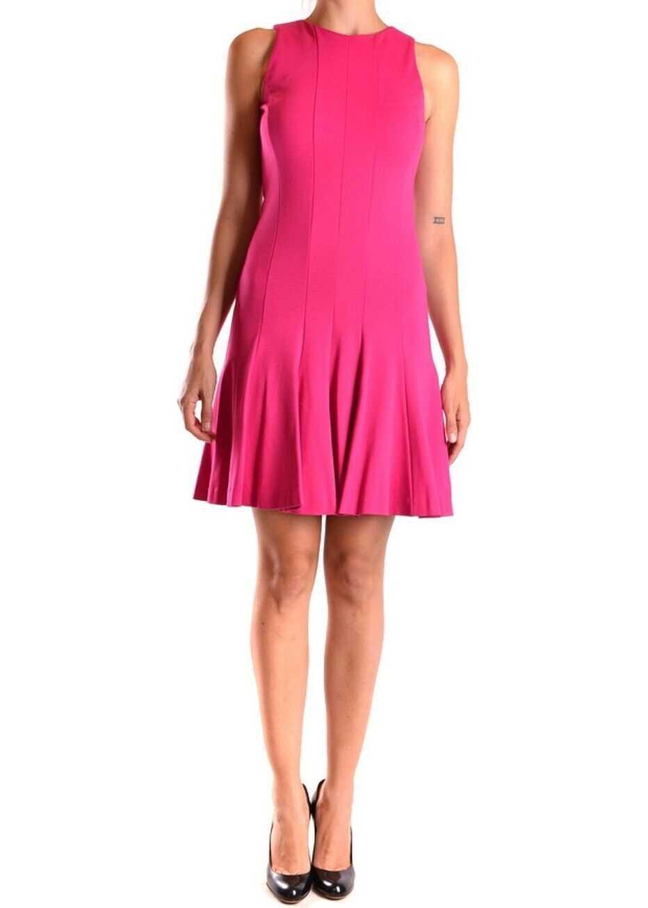 Michael Kors Viscose Dress PINK