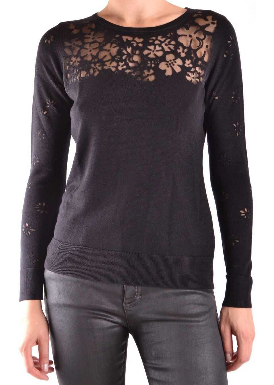 Michael Kors Viscose Sweater BLACK