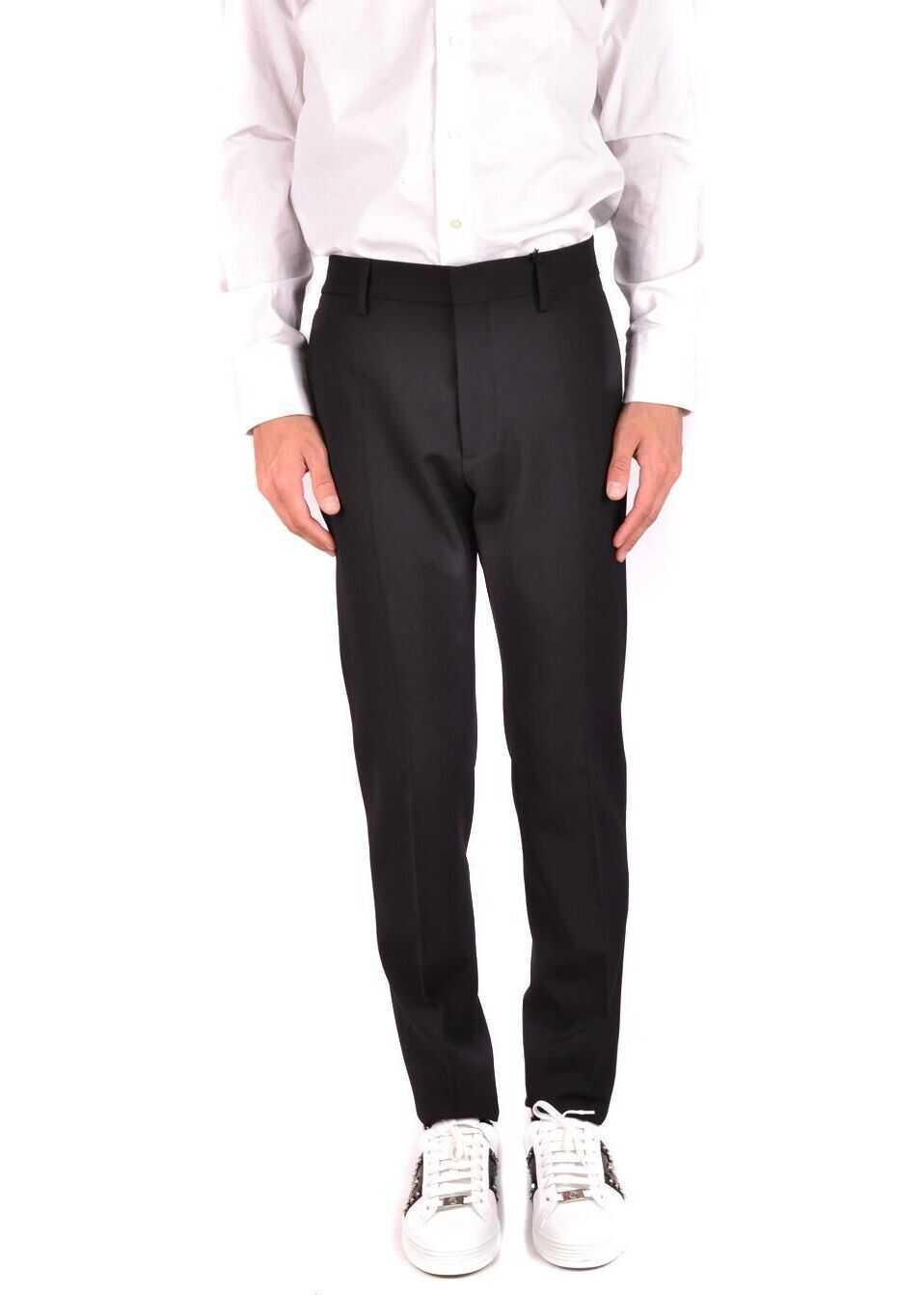 DSQUARED2 Wool Pants BLACK