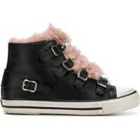 Tenisi & Adidasi ASH Valkoblackashrose Leather Hi Top Sneakers