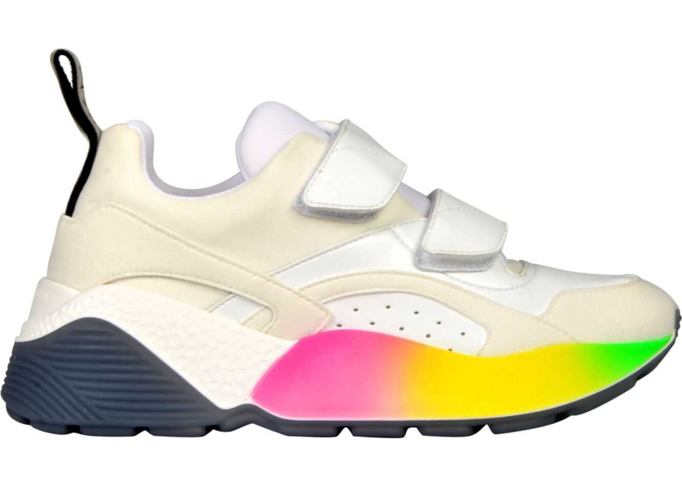 adidas by Stella McCartney Polyester Sneakers WHITE