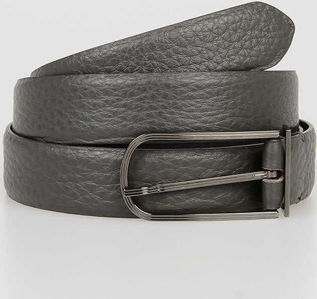Maison Margiela Leather Belt DARK GRAY