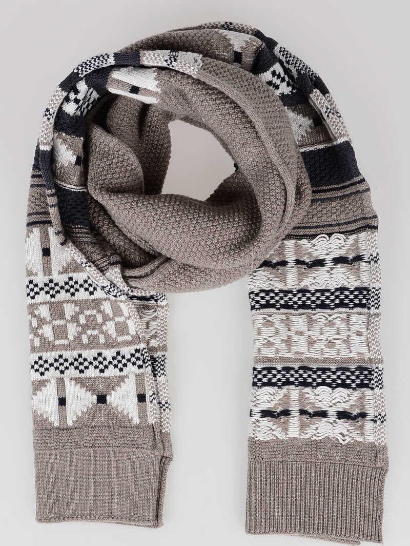 Maison Margiela Cotton Wool Scarf MULTICOLOR