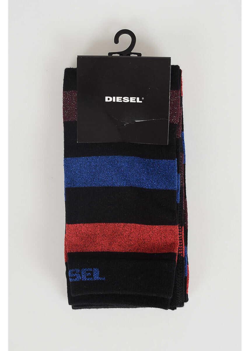 Diesel Kids Cotton Blend Socks N/A