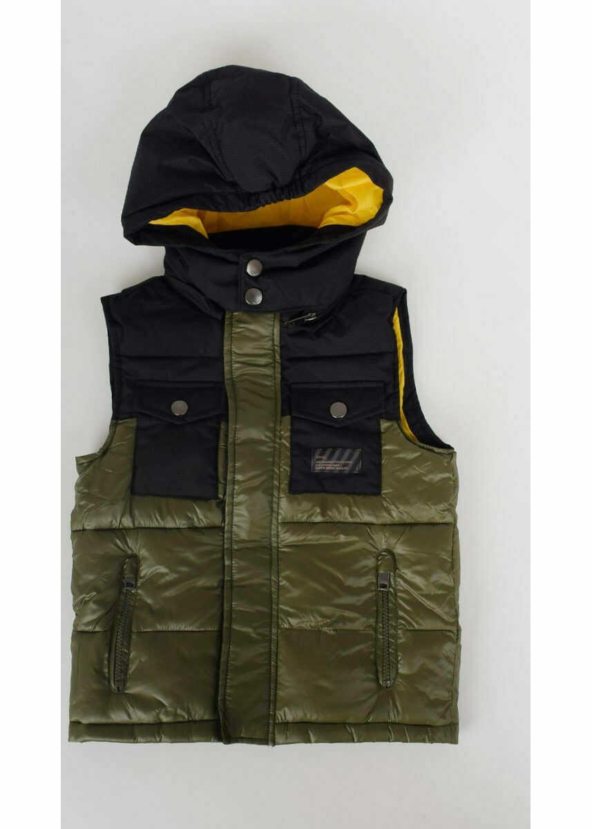 Geci Fete Diesel Kids Nylon Sleeveless JOSTI Jacket