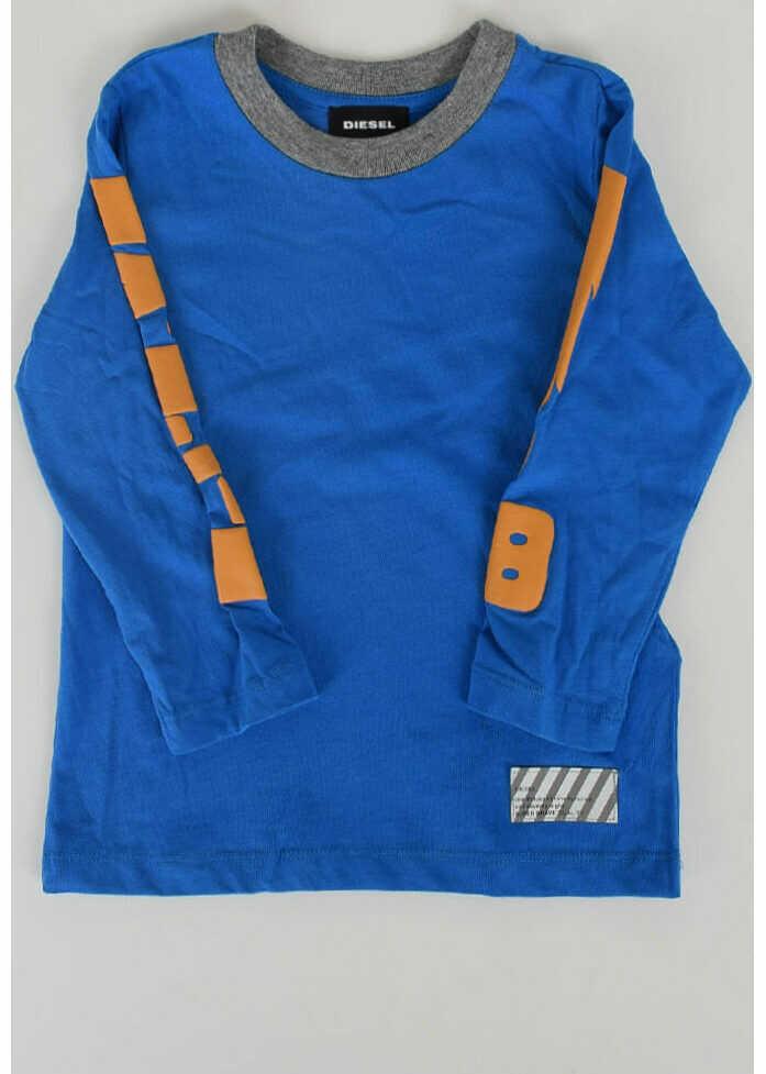 Tricouri Fete Diesel Kids Long Sleeves TASTEK T-shirt