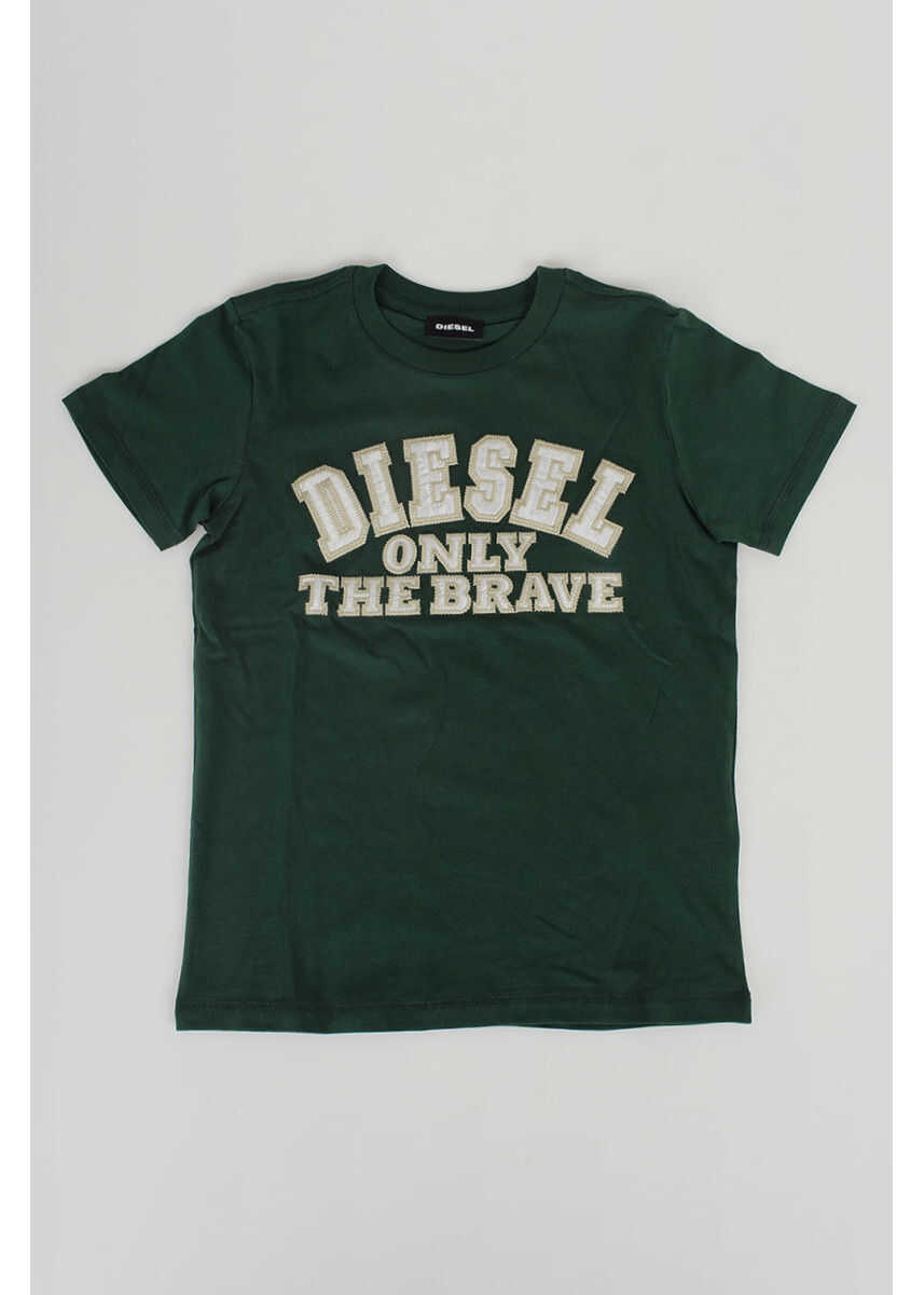 Tricouri Fete Diesel Kids Round Neck TIPPI T-shirt