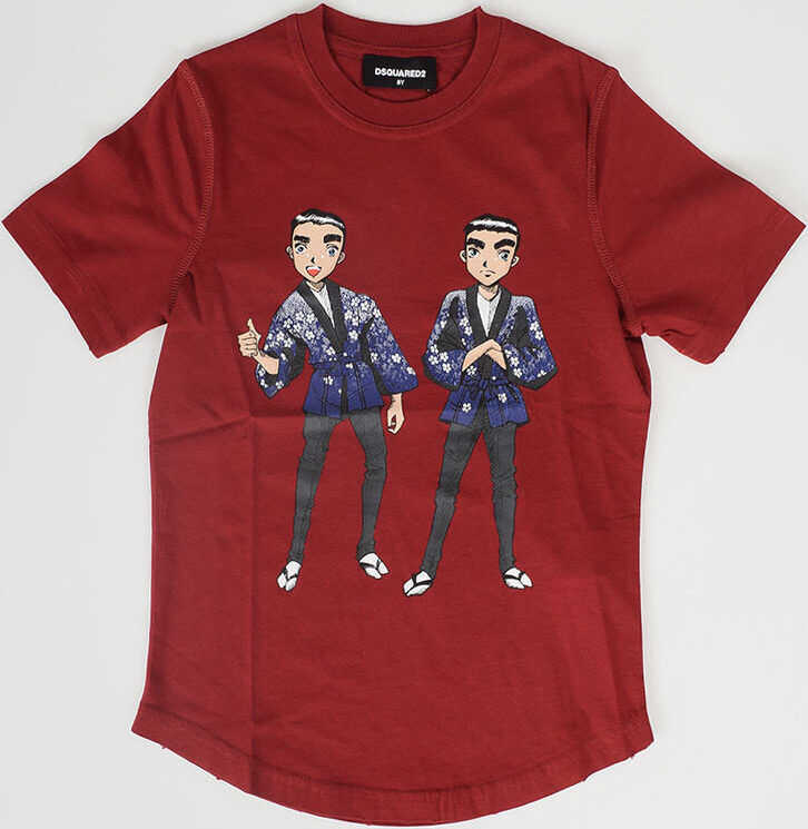 Tricouri Fete Dsquared2 Kids Cotton Jersey T-shirt
