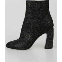 Botine 9cm Glitter Ankle Boots Femei