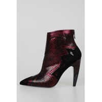 Botine 11cm Leather Ankle Boots Femei