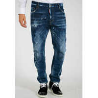 Blugi 17cm Stretch Denim TIDY BIKER Jeans Barbati