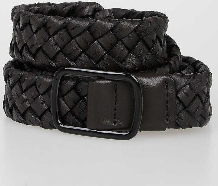 Bottega Veneta Leather Belt 3 CM BROWN