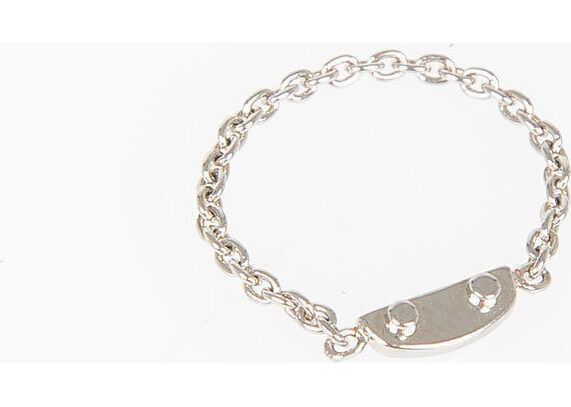 Balenciaga Chain Ring SILVER