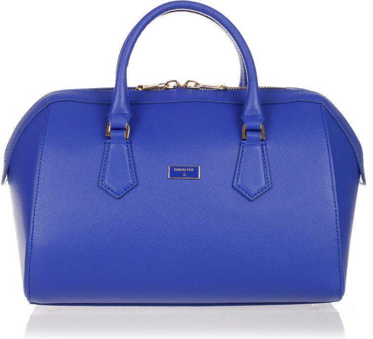 Patrizia Pepe Handbag with removable Shoulder Strap BLUE