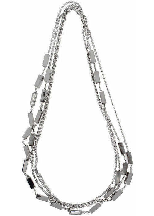 DSQUARED2 Metal Necklace with Strass N/A