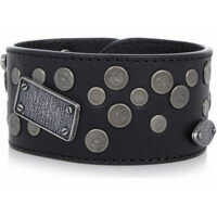 Bratari MM11 Leather Bracelet with Details Barbati